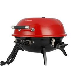 Clearance Sale Electric BBQ Grill Indoor/Outdoor Electric Grill for Indoor & Outdoor Use, Double Layer Design, Portable Removable Stand Grill, 1600W