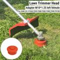 1/2Pcs Trimmer Head Bump Feed for Stihl 25-2 FS44 FS55 FS80 FS83 FS85 Brushcutter Brush Cutter Grass Trimmer Petrol Straight Shaft Strimmer ,Red