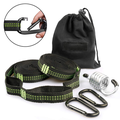 AUPERTO Hammock Straps -Hammock Attachment Tree Swing Attachment Hanging Chair Set, Adjustable and Flexible, Easy To Use