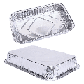 Aluminum Foil Grill Drip Pans -Bulk Pack of Durable Grill Trays Disposable BBQ Grease Pans Compatible with Made Also Great for Baking, Roasting and Cooking 25PCS