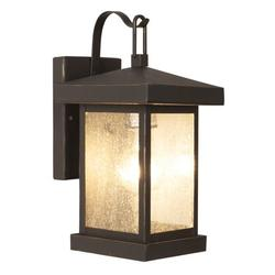 Trans Globe Lighting 45640 Asian 1 Light Down Lighting Outdoor Square Wall Sconce From The