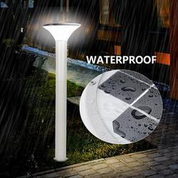 Brrnoo Solar Post Light 1PC Garden Post Light,Solar Post Light,6500K Outdoor LED Solar Post Light with Automatic On/Off Sensor for Lawn Yard Patio Walkway