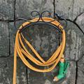 Garden Hose Holder Hanger, Heavy Duty Metal Water Hose Storage Stand Rack for Yard Lawn