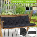 Indoor Outdoor Swing Chair Cushion Living Room Patio Bench Cushion Furniture Lounge Seat Pad for 2/3 Seater