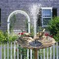 Patgoal 1pcs Solar Water Fountain/ Solar Fountain Pump for Bird Bath/ Solar Fountain Pump/ Solar Water Pump/ Solar Bird Bath Fountains/ Solar Water Fountains Outdoor/ Solar Fountain/ Solar Bird Bath