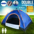 2 Person Camping Tent, Beach Tent, Portable Automatic Open Up, Automatic Instant Beach Tent Beach Sun Shade Fit for 2-3 Person Backpacking, Hiking & Outdoor, Size 79x60x43inch