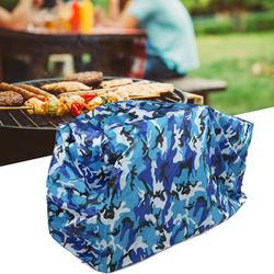 CHICIRIS Outdoor Barbeque BBQ Grill Waterproof Cover,Portable BBQ Grill Cover Outdoor Barbecue Dust Waterproof Grill Cover BBQ Accessories