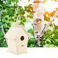 OTVIAP Wooden Bird Warm Breeding Box Outdoor Hanging Wood Bird House Cage Pet Supplies for Budgerigar,Bird Cage,Bird Supplies