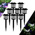Garden Solar Lights Outdoor Decorative Resin Owl Solar LED Lights with Stake for Garden Lawn Pathway Yard Decortions