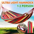 110 x 39 inch Hammock Chairs Bed Tree Chair Cotton Rope Hanging Chair Swing Seat For Outdoor Yard Patio Porch Garden Camping
