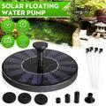 Solar Fountain Brushless Pump Plants Watering Kit for Bird Bath Garden Pond