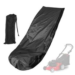 Tebru Dustproof Mower Cover,Lawn Mower Dust Cover,Waterproof Lawn Mower Cover Dustproof Weeding Machine Polyester Cover Dust Cover Protection