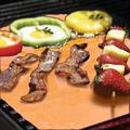 Grill Mat 6 Pack, 100% Non-Stick 16x13� BBQ Grilling Baking Mats with 2 Basting Brushes Grill Mat For Gas, Charcoal, Electric Grill Reusable Grill Sheet Pad Heat Resistant Up To 717℉
