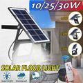 1/2Pack 30W 54 LED Solar Flood Lights Solar Panel Outdoor Solar Street Wall Light Waterproof Security Light for Garden Garage Lawn Pool Fencing Pathway Light Contro