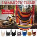 Hammock Chair Hanging Swing Chair Seat for Garden Indoor Outdoor Portable Swing