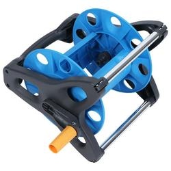 Mgaxyff Pipe Reel Rack, Wear Resistance Hose Reel, Folding Rotating Handle Gardening Accessory Water Pipe Reel Trolley For Public Green Space Home Gardening