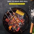 Stainless Steel Barbecue Sign Set, Barbecue Spit Outdoor Bbq Barbecue Needle Household Supplies