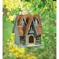 ymorking 29312 Wholesale Thatch Roof Chimney Birdhouse Garden Decor Decoration Outdoor Front Yard Frontyard Home House Grass Flowers By Brand ymorking