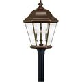 Rla Hinkley RL-88340 Outdoor Post Light Copper Bronze Solid Brass Wichita