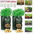 Potato Grow Bags Planters Outdoor Garden Vegetable Tomato Plant Containers Pots