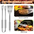 BBQ Grill Accessories, Stainless Steel BBQ Tools Set for Men & Women Grilling Utensils Accessories with Storage for Barbecue Indoor Outdoor