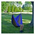 """60"""" Green and Blue Polyester Traveler Hammock Chair"""