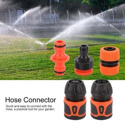 Mgaxyff Garden Hose Connector,5Pcs Garden Hose Quick Connector Water Pipe Adapter Home Gardening Accessories for 1/2 Hose, Hose Quick Connector