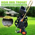 New Portable Home Only Garden Hose Reel Organizer Water Without Hose Pipe Reel Holder Trolley Cart Watering Tool