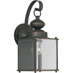 Forte Lighting 1048-01 Outdoor Wall Sconce From The Exterior Lighting Collection