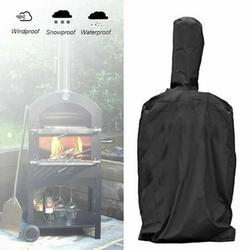 Outdoor Pizza Chimney Oven Cover BBQ Grill Rain Dust Oxford Cloth Waterproof