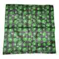 "Wholesale Lot 6 22""x22"" Weed Marijuana E Cannabis Unum Leaf Bandana"