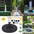 Solar Water Pump Floating Panel Pool Solar Power Fountain Garden Garden Landscape Solar Fountain Pump