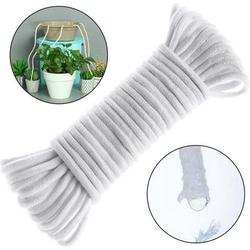 Windfall 300cm Self Watering Wick Cord for Vacation Self-Watering Planter Pot DIY Automatic Watering Device System Potted Plant Sitter Auto Drip Waterer to Water Self Watering Wicking Cord