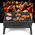 Kritne Portable Barbecue Grill, Stainless Steel Barbecue Grill,Portable Stainless Steel Folding Barbecue Grill BBQ Charcoal Grill for Camping Outdoor