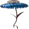 Hummingbird Feeder, Coneflower Standing Bird Feeder, Rust Resistant Garden Art Metal Birdfeeder, Sensation Pink Bird Feeder - Metal Detachable Flower Stakes for Yard Garden