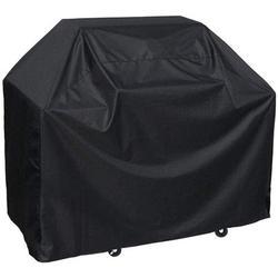 "BBQ Grill Cover, 58-inch Waterproof Heavy-Duty Premium BBQ Grill Cover Gas Barbeque Grill Cover -Large((L:58"" W: 24"" H:46"") Black"