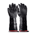 Heat Resistant-Smoker BBQ Gloves 18 Inches,932℉, Grill, Cooking Barbecue Gloves, to Handling Heat Food Right on Your Fryer,Grill,Oven. Waterproof, Fireproof, Oil Resistant Neoprene Coating