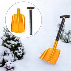 Tebru Aluminum Outdoor Multifunction Folding Snow Mud Shovel for Climbing Camping Tool,Outdoor Camping Shovel,Camping Shovel