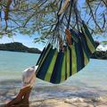 Hammock Hanging Rope Chair,Portable Hanging Swing Seat Swing Chair for Camping ,Patio, Yard, Bedroom Garden(Not Including Sticks,Ropes, Cushions)