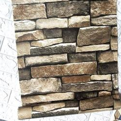 118�×17.7� Stacked Stone Wallpaper 3D Rock Wallpaper Peel and Stick Wallpaper Stone Self Adhesive Wallpaper Stick and Peel Wallpaper Stone Removable Wallpaper Stone Papel Tapiz Stone Vinyl Wallpaper