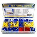 360-Piece Solderless Electrical Terminal Assortment, 360 pcs Terminal Kit - Terminal Assortment By Brand WISDOM