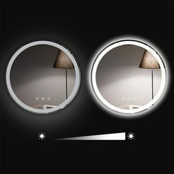 LED Make Up Mirror Round Vanity Mirror Light Adjustable Wall Mount Bathroom Dressing Room Supplies,lighted vanity mirror,bathroom mirrors for vanity,bathroom mirror,bathroom vanity