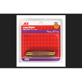 Ace 3/8 in. MPT x 2-1/2 in. Dia. MPT Threaded Red Brass Pipe Nipple