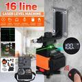 Green Line Laser, Self Leveling Laser Level for Construction, Auto Leveling Laser Level Kit with 16 Lines, Laser Leveler Tool