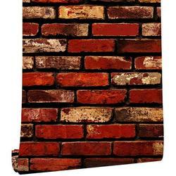 17.7�×197�Red Brick Wallpaper Peel and Stick Wallpaper Brick Self Adhesive Wallpaper Stick and Peel Brick Removable Wallpaper 3D Brick Wallpaper Red Brick Papel Tapiz Red Brick Wall Paper Backsplash