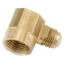 """2 PK Anderson Metals 3/8"""" Flare x 1/2"""" Female Iron Pipe Thread 90 Degree Elbow Lead Free"""