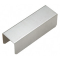"""CRL GRS15CSS 1-1/2"""" Stainless Steel Square Connector Sleeve for Square Cap Railing, Square Cap Rail Corner, and Hand Railing"""