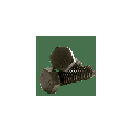 "Hex Cap Screw Grade 5, Steel, Finish: Plain, 9/16-18 x 4"", (QUANTITY: 25) Fine Thread (UNF), Partially Threaded, Diameter: 9/16""-18, Length: 4"""