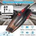 12V 120W Cordless Handheld Vacuum, Hand Vacuum Cleaner Pet Hair Vacuum, Car Vacuum Cleaner 5000PA for Home Car Clean