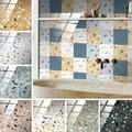 Self Adhesive Removable Stick On Kitchen Backsplash Bathroom Kitchen 3D Wall Sticker Wallpaper Tiles